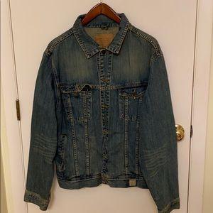 Abercrombie and Fitch Jean Jacket XL men's